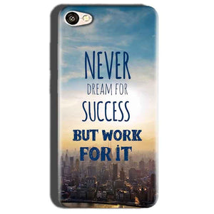 Oppo A57 Mobile Covers Cases Never Dreams For Success But Work For It Quote - Lowest Price - Paybydaddy.com