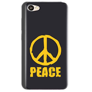 Oppo A57 Mobile Covers Cases Peace Blue Yellow - Lowest Price - Paybydaddy.com