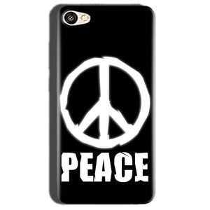 Oppo A57 Mobile Covers Cases Peace Sign In White - Lowest Price - Paybydaddy.com