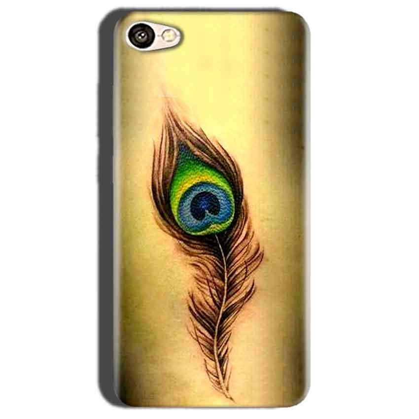 Oppo A57 Mobile Covers Cases Peacock coloured art - Lowest Price - Paybydaddy.com