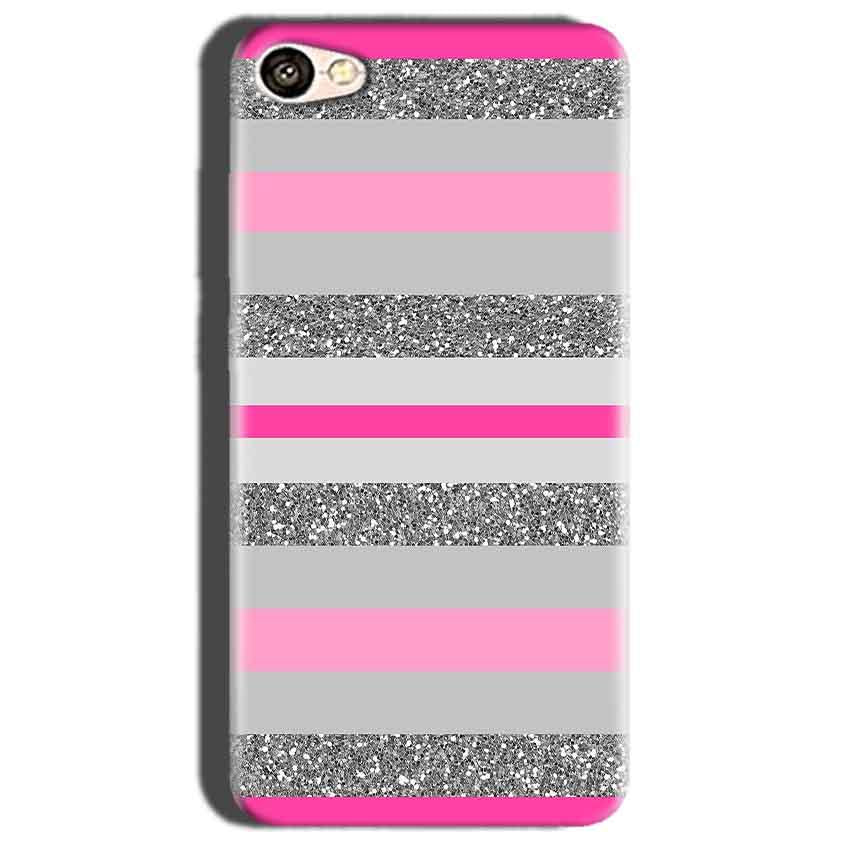 Oppo A57 Mobile Covers Cases Pink colour pattern - Lowest Price - Paybydaddy.com