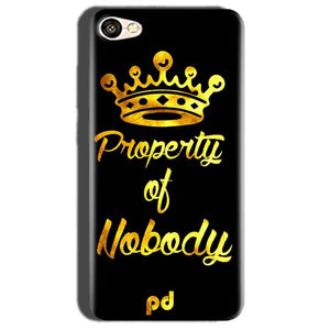 Oppo A57 Mobile Covers Cases Property of nobody with Crown - Lowest Price - Paybydaddy.com