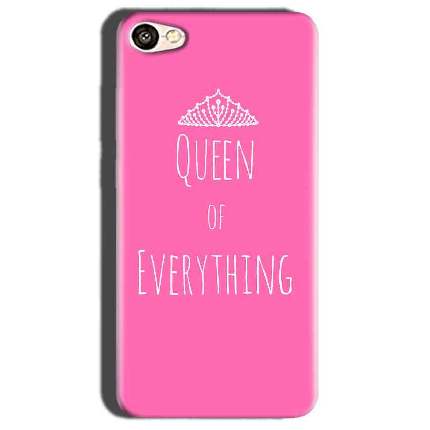 Oppo A57 Mobile Covers Cases Queen Of Everything Pink White - Lowest Price - Paybydaddy.com
