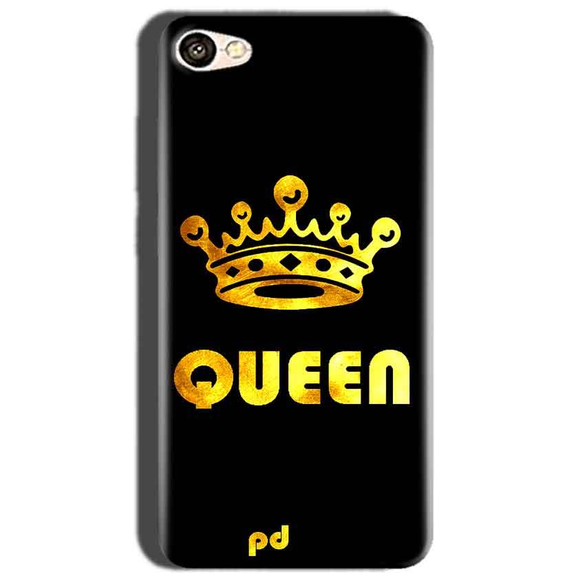 Oppo A57 Mobile Covers Cases Queen With Crown in gold - Lowest Price - Paybydaddy.com