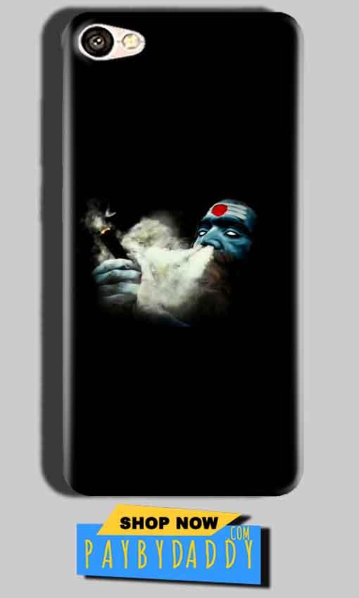 Oppo A57 Mobile Covers Cases Shiva Aghori Smoking - Lowest Price - Paybydaddy.com