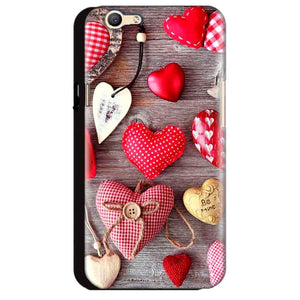 Oppo A59 Mobile Covers Cases Hearts- Lowest Price - Paybydaddy.com