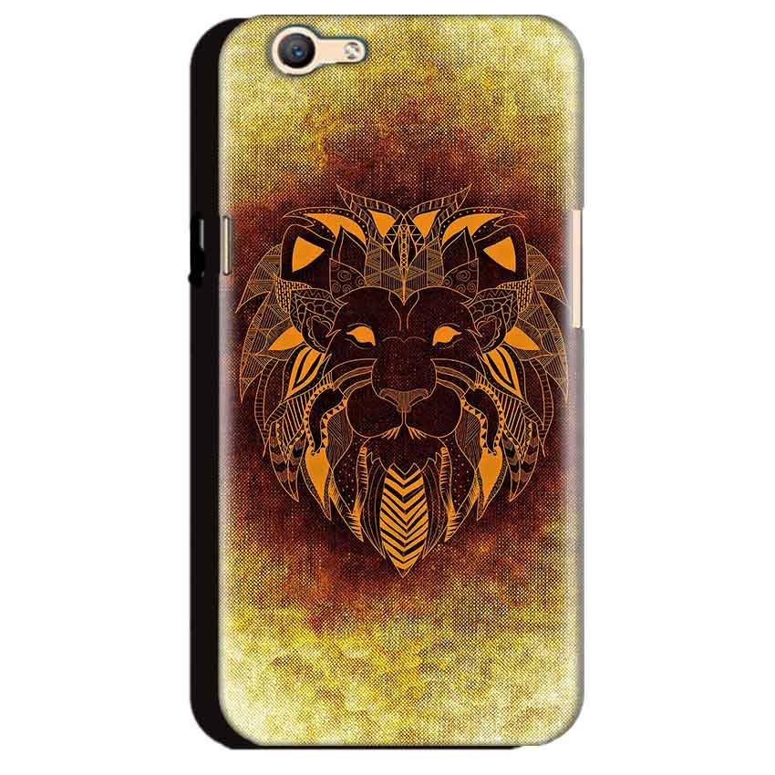Oppo A59 Mobile Covers Cases Lion face art - Lowest Price - Paybydaddy.com