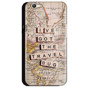Oppo A59 Mobile Covers Cases Live Travel Bug - Lowest Price - Paybydaddy.com
