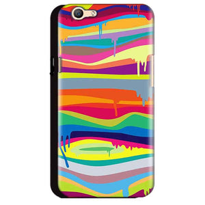 Oppo A59 Mobile Covers Cases Melted colours - Lowest Price - Paybydaddy.com