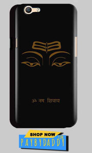 Oppo A59 Mobile Covers Cases Om Namaha Gold Black - Lowest Price - Paybydaddy.com