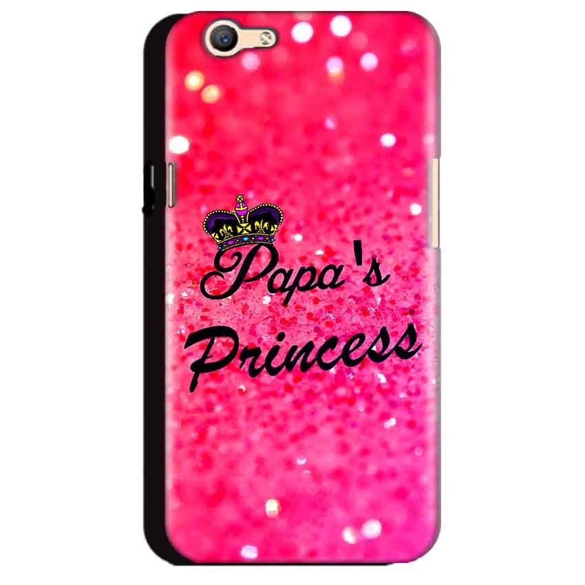Oppo A59 Mobile Covers Cases PAPA PRINCESS - Lowest Price - Paybydaddy.com