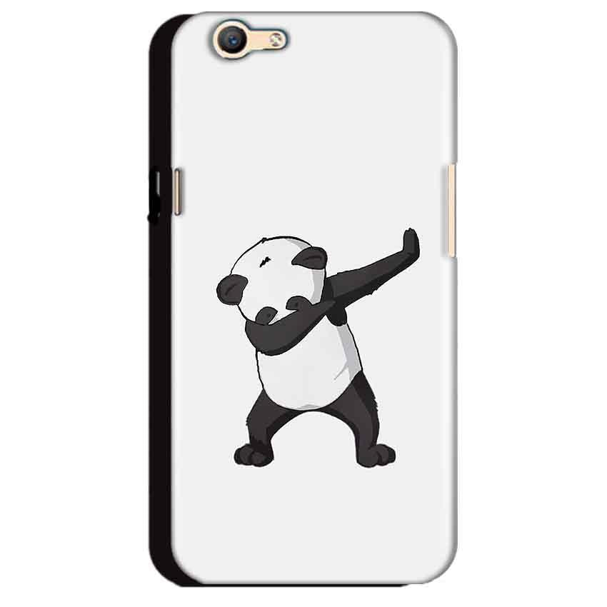 Oppo A59 Mobile Covers Cases Panda Dab - Lowest Price - Paybydaddy.com