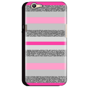 Oppo A59 Mobile Covers Cases Pink colour pattern - Lowest Price - Paybydaddy.com
