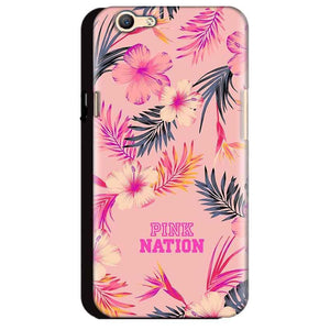 Oppo A59 Mobile Covers Cases Pink nation - Lowest Price - Paybydaddy.com