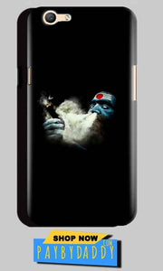 Oppo A59 Mobile Covers Cases Shiva Aghori Smoking - Lowest Price - Paybydaddy.com