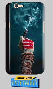 Oppo A59 Mobile Covers Cases Shiva Hand With Clilam - Lowest Price - Paybydaddy.com