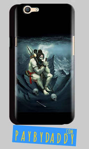 Oppo A59 Mobile Covers Cases Shiva Smoking - Lowest Price - Paybydaddy.com