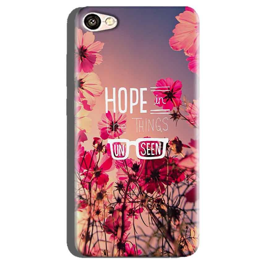 Oppo A71 Mobile Covers Cases Hope in the Things Unseen- Lowest Price - Paybydaddy.com