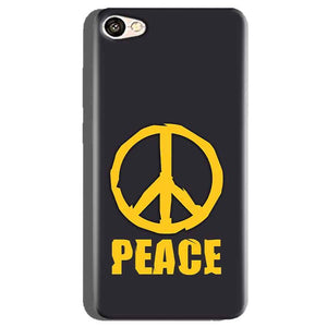 Oppo A71 Mobile Covers Cases Peace Blue Yellow - Lowest Price - Paybydaddy.com