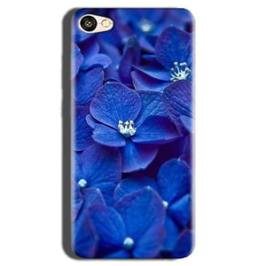 Oppo A83 Mobile Covers Cases Blue flower - Lowest Price - Paybydaddy.com