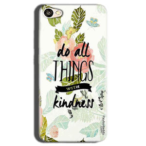 Oppo A83 Mobile Covers Cases Do all things with kindness - Lowest Price - Paybydaddy.com