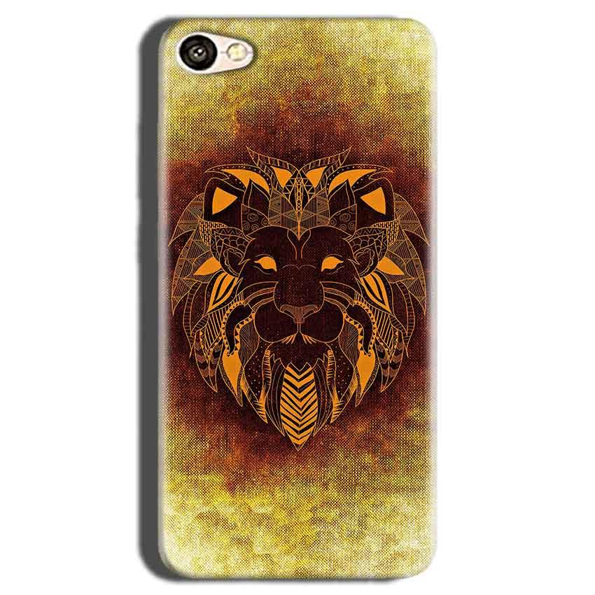 Oppo A83 Mobile Covers Cases Lion face art - Lowest Price - Paybydaddy.com