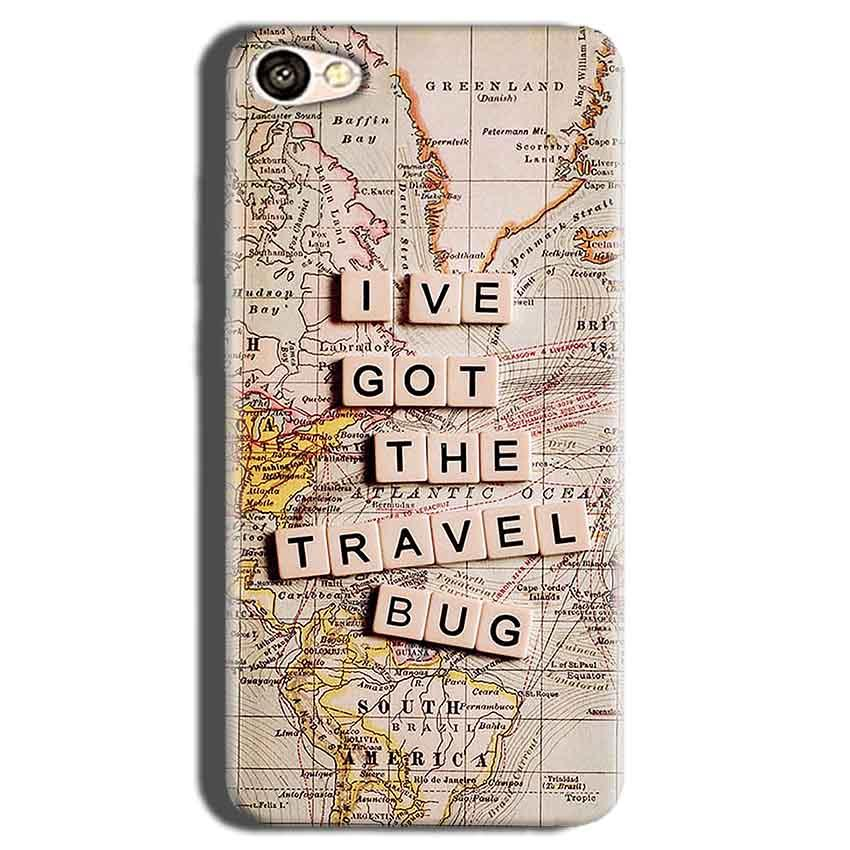 Oppo A83 Mobile Covers Cases Live Travel Bug - Lowest Price - Paybydaddy.com