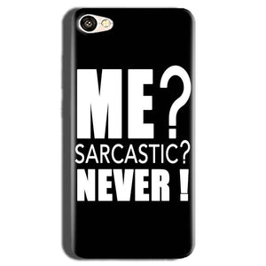 Oppo A83 Mobile Covers Cases Me sarcastic - Lowest Price - Paybydaddy.com