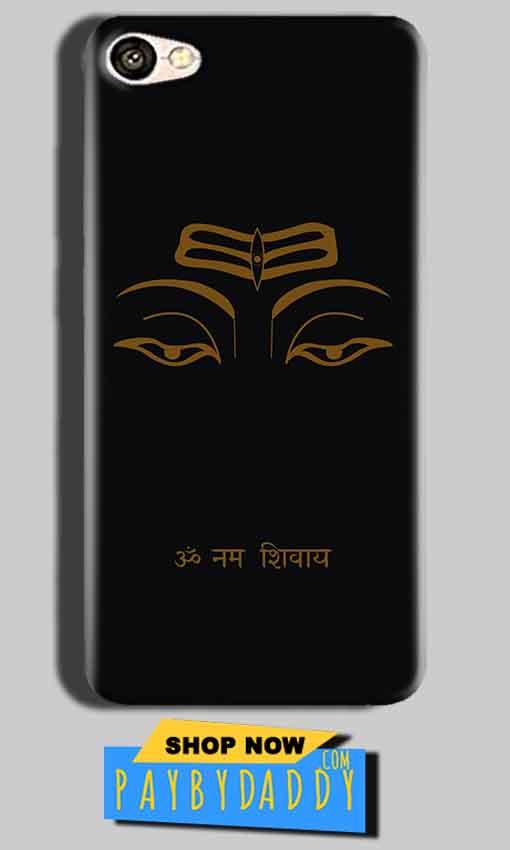 Oppo A83 Mobile Covers Cases Om Namaha Gold Black - Lowest Price - Paybydaddy.com