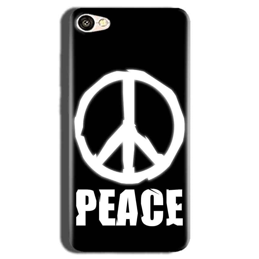 Oppo A83 Mobile Covers Cases Peace Sign In White - Lowest Price - Paybydaddy.com