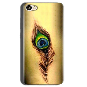 Oppo A83 Mobile Covers Cases Peacock coloured art - Lowest Price - Paybydaddy.com