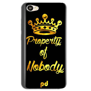 Oppo A83 Mobile Covers Cases Property of nobody with Crown - Lowest Price - Paybydaddy.com