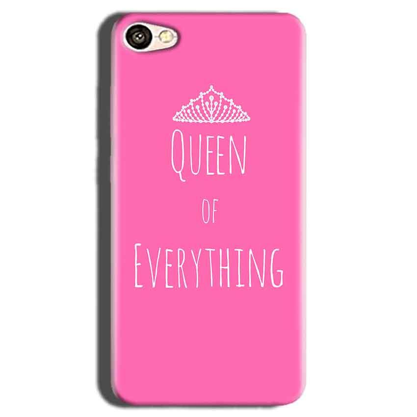 Oppo A83 Mobile Covers Cases Queen Of Everything Pink White - Lowest Price - Paybydaddy.com