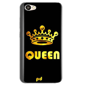 Oppo A83 Mobile Covers Cases Queen With Crown in gold - Lowest Price - Paybydaddy.com