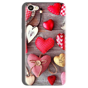 Oppo F1S Mobile Covers Cases Hearts- Lowest Price - Paybydaddy.com
