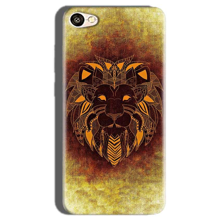 Oppo F1S Mobile Covers Cases Lion face art - Lowest Price - Paybydaddy.com