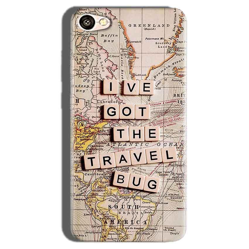 Oppo F1S Mobile Covers Cases Live Travel Bug - Lowest Price - Paybydaddy.com