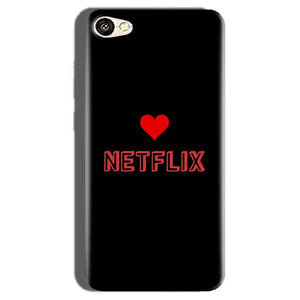 Oppo F1S Mobile Covers Cases NETFLIX WITH HEART - Lowest Price - Paybydaddy.com