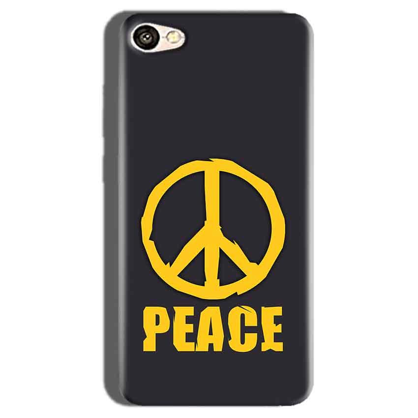 Oppo F1S Mobile Covers Cases Peace Blue Yellow - Lowest Price - Paybydaddy.com