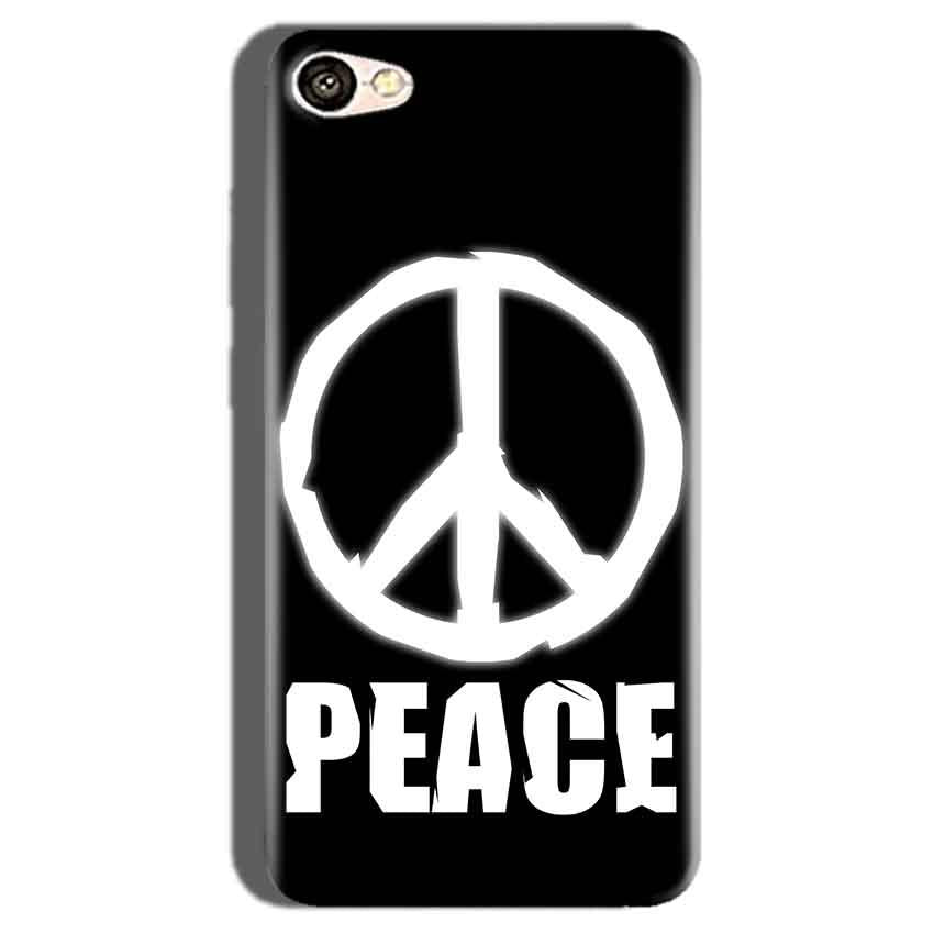 Oppo F1S Mobile Covers Cases Peace Sign In White - Lowest Price - Paybydaddy.com