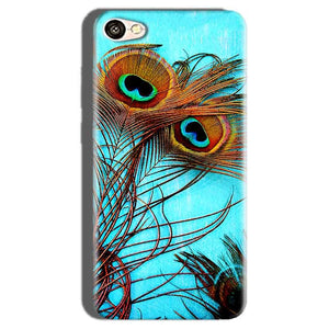 Oppo F1S Mobile Covers Cases Peacock blue wings - Lowest Price - Paybydaddy.com