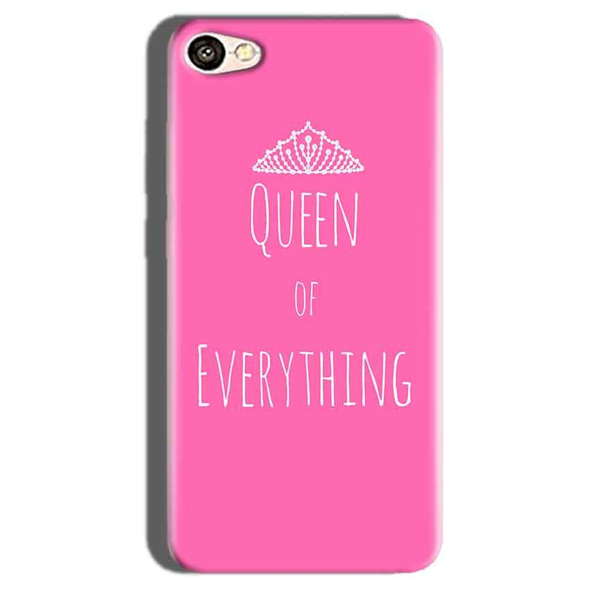 Oppo F1S Mobile Covers Cases Queen Of Everything Pink White - Lowest Price - Paybydaddy.com