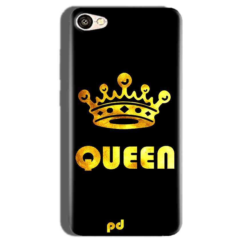 Oppo F1S Mobile Covers Cases Queen With Crown in gold - Lowest Price - Paybydaddy.com