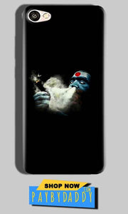 Oppo F1S Mobile Covers Cases Shiva Aghori Smoking - Lowest Price - Paybydaddy.com