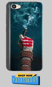 Oppo F1S Mobile Covers Cases Shiva Hand With Clilam - Lowest Price - Paybydaddy.com