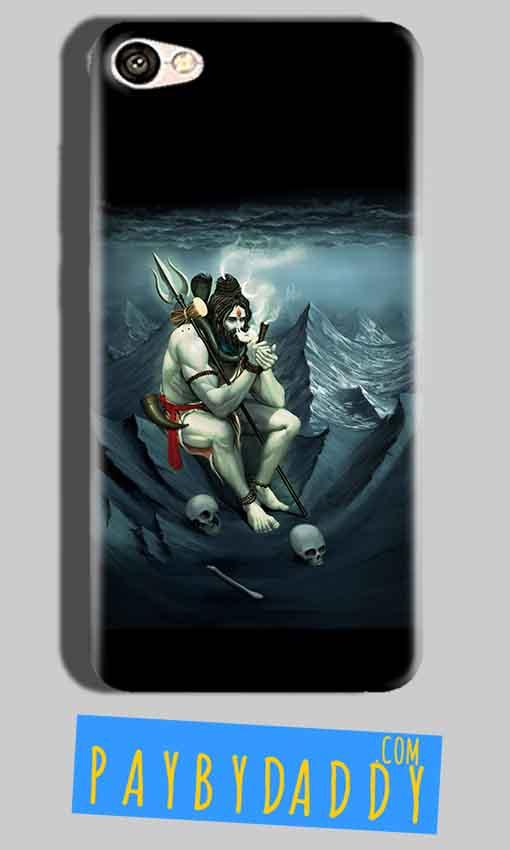 Oppo F1S Mobile Covers Cases Shiva Smoking - Lowest Price - Paybydaddy.com