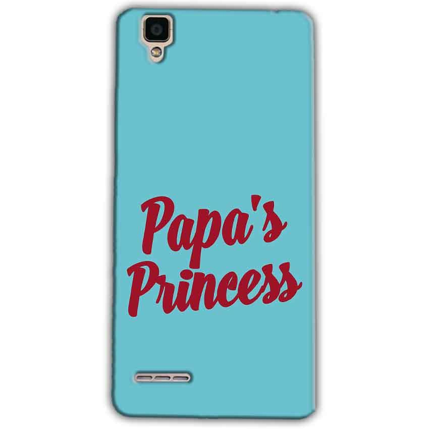 Oppo F1 Mobile Covers Cases Papas Princess - Lowest Price - Paybydaddy.com