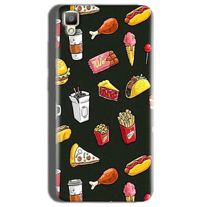 Oppo F1 Plus Mobile Covers Cases Foodie Design - Lowest Price - Paybydaddy.com