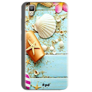 Oppo F1 Plus Mobile Covers Cases Pearl Star Fish - Lowest Price - Paybydaddy.com