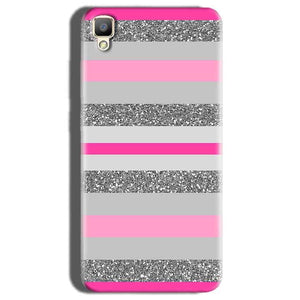 Oppo F1 Plus Mobile Covers Cases Pink colour pattern - Lowest Price - Paybydaddy.com